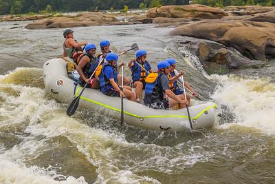James River 8-11-13 River City Rafting