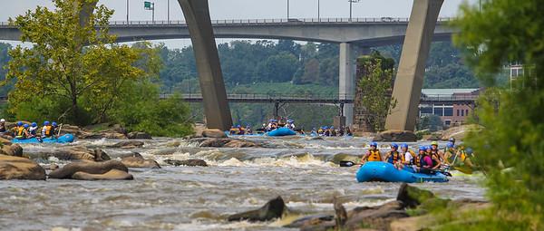 James River 8-10-13 River City Rafting