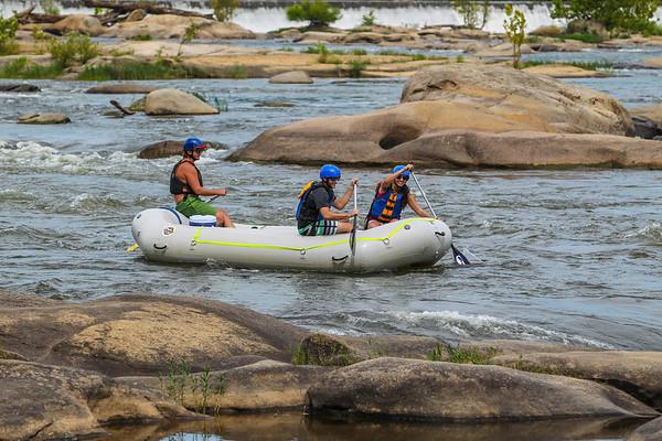 James River 8-16-13 River City Rafting