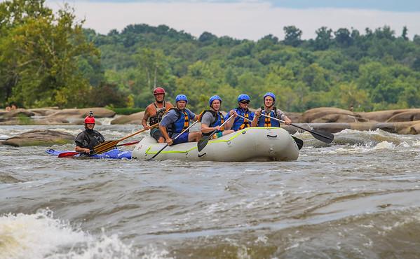 James River 8-17-13 River City Rafting