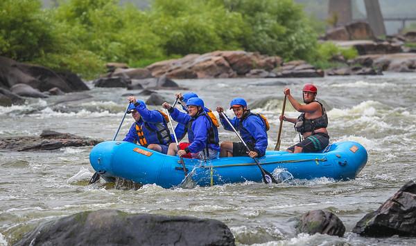 James River 8-18-13 River City Rafting