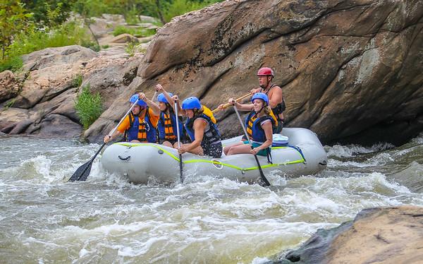 James River 8-23-13 River City Rafting