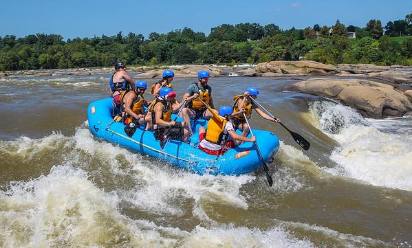 James River 8-24-13 River City Rafting