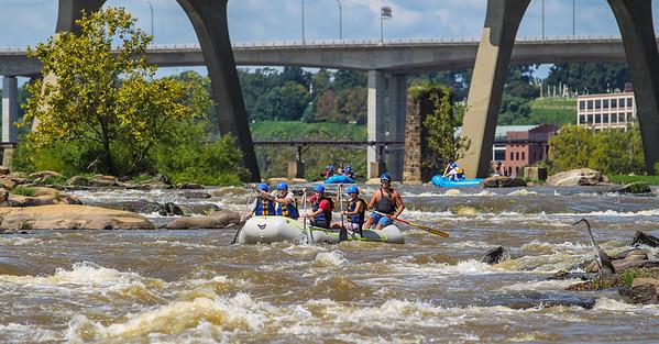 James River 8-25-13 River City Rafting