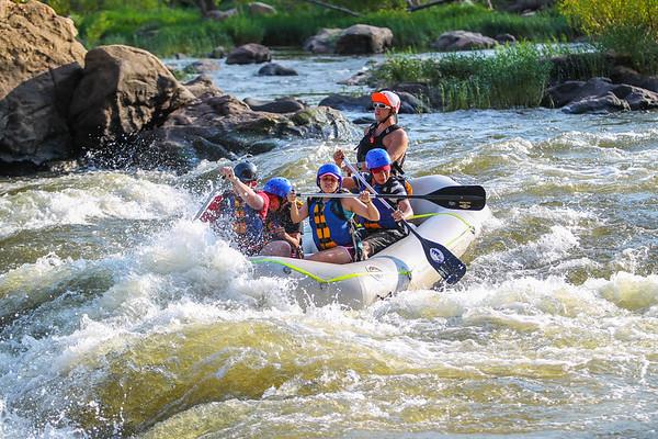 James River 8-30-13 River City Rafting
