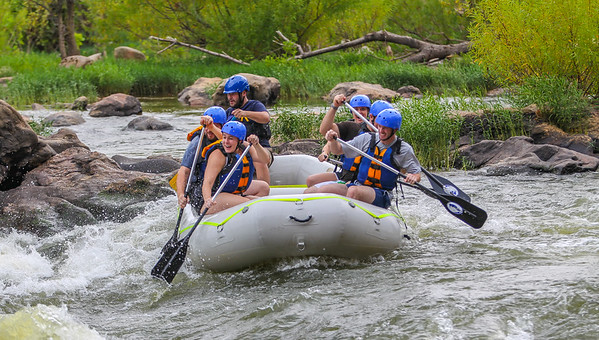 James River 8-31-13 River City Rafting