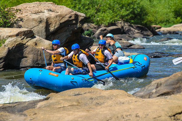 James River 8-4-13 River City Rafting