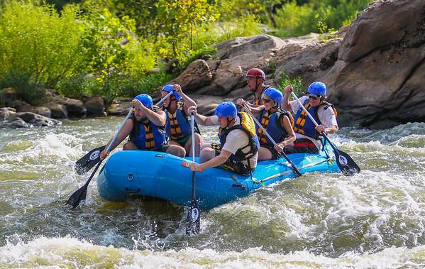 James River 8-5-2013 River City Rafting