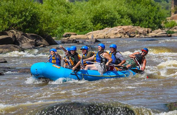 James River 8-9-2013 River City Rafting