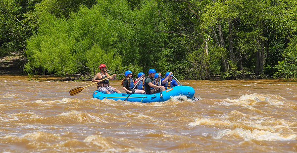 James River/Flood Wall 7-14-13 River City Rafting