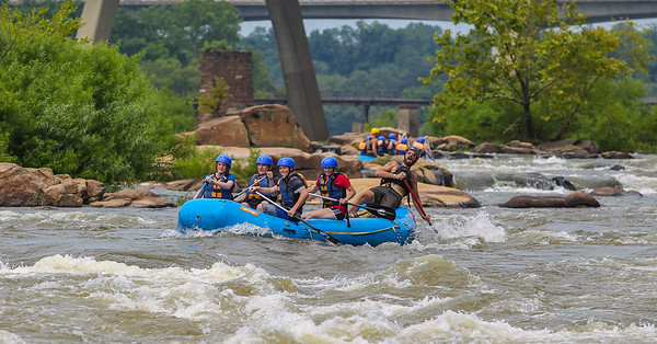 James River/Pipeline         7-22-13 River City Rafting