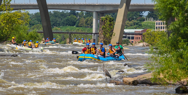 James River/Pipeline 7-25-13 River City Rafting