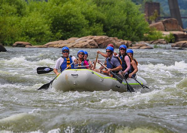 James River/Pipeline 7-27-13 River City Rafting