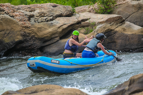 James River/Pipeline 7-28-13 River City Rafting