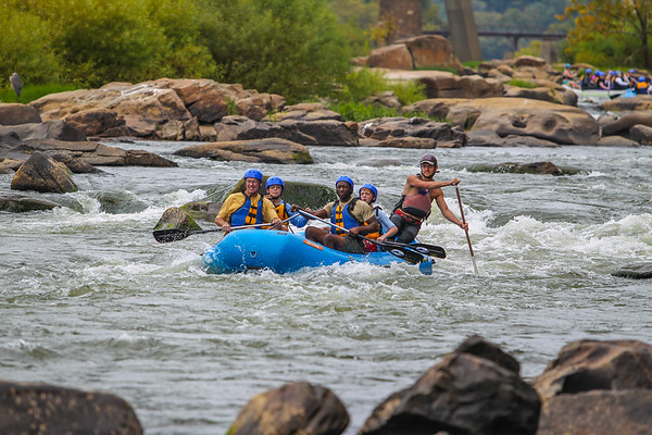 James River 9-21-13 River City Rafting