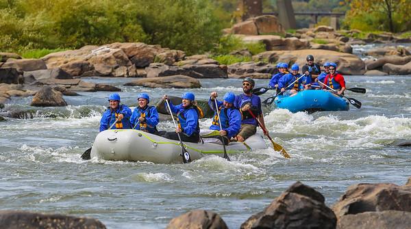 James River 9-28-13 River City Rafting