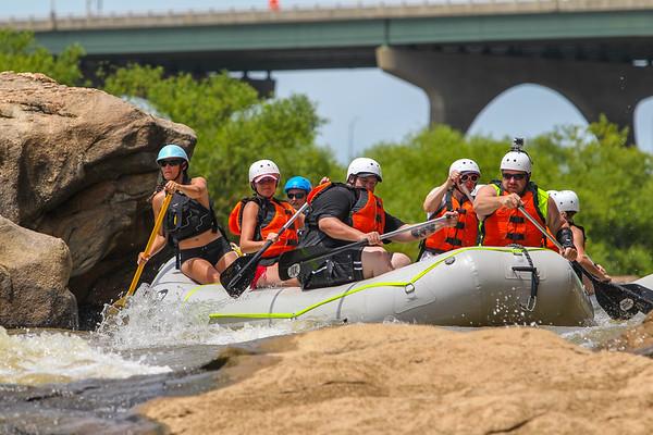 River City Adventures 7-9-16 Morning Trip