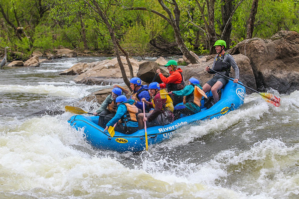 Riverside Outfitters 4-30-16 Afternoon Trip