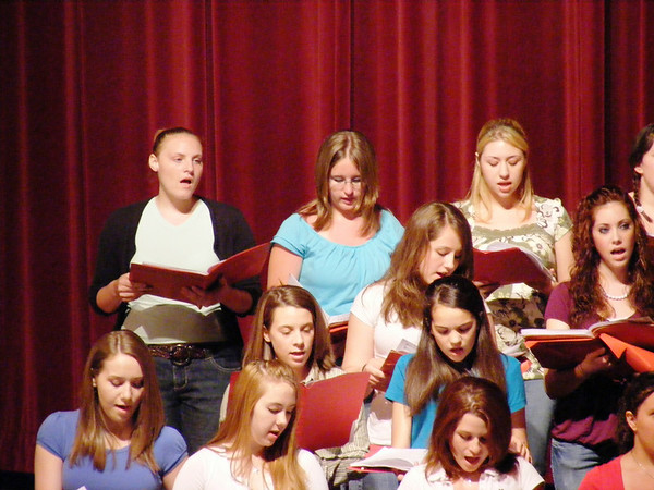 Whitehall High School Music Groups 2007-2008