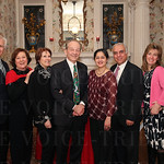 John and Joan Morris, Board Members Carole and Tom McMurry, Rupa and Arun Gadre, and Sue and Keith Forwith.