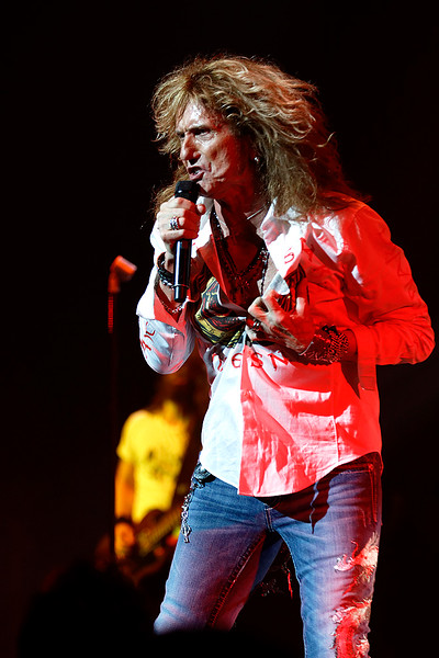 Whitesnake  live at The Fox Theatre in  Detroit on 6-17-16.  Photo credit: Ken Settle