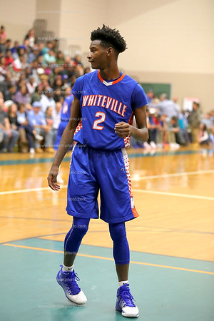 Whiteville vs East Columbus basketball boys 2017