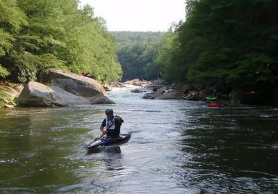 2008-07-26 Upper Yough Race, below National Falls