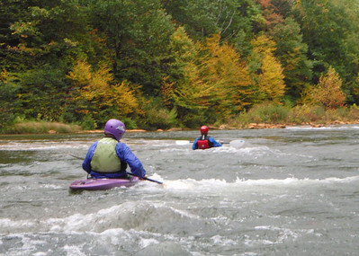 2008-9-14 to 2008-11-29 Low water runs & hikes: Stonycreek, Lower Yough, Bear Run, Cuyahoga River, Tinker's Creek
