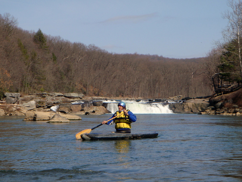 Charlie below Ohiopyle Falls.