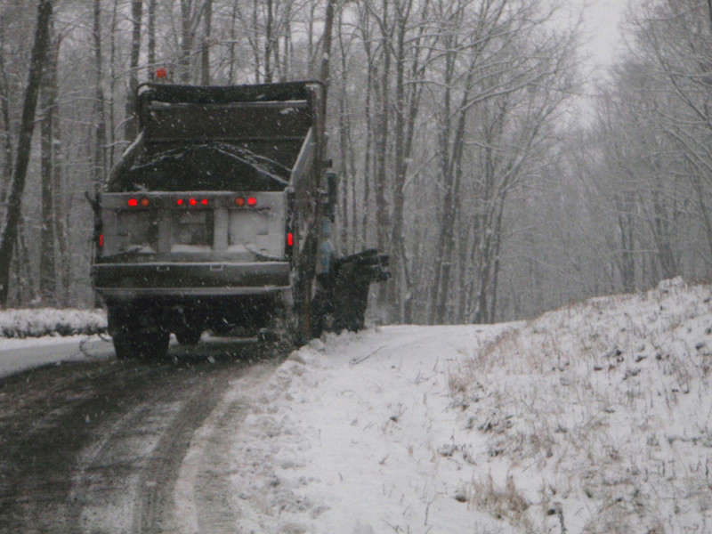 Following the plow to the put-in