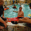 Pool session at Seton Hill College