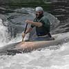 Carl padding Ohiopyle Falls on September 9, 2010