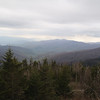 Photo by Carolyn. Clingmans Dome hike, NC & TN