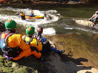 2013 Swiftwater Rescue Symposium on the Tuckaseegee River