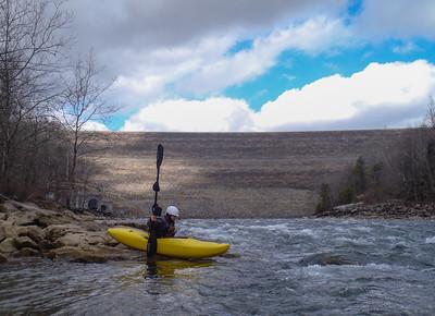 2013-02-23 Upper Gauley (1000cfs)