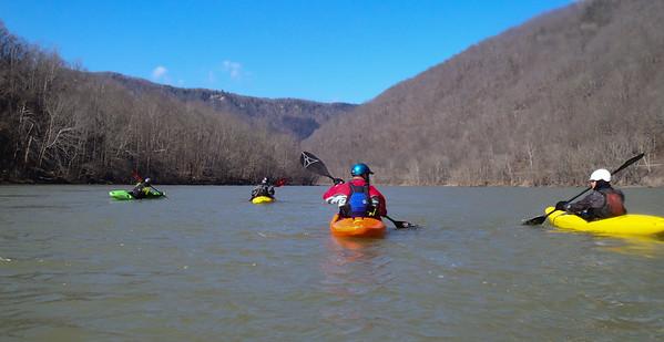 2013-02-24 New River, Glade Cr. to Grandview Sandbar