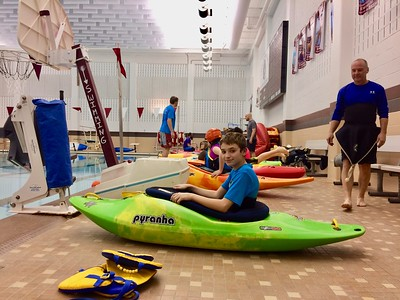 2017 Kayak Roll Session at Uniontown High School