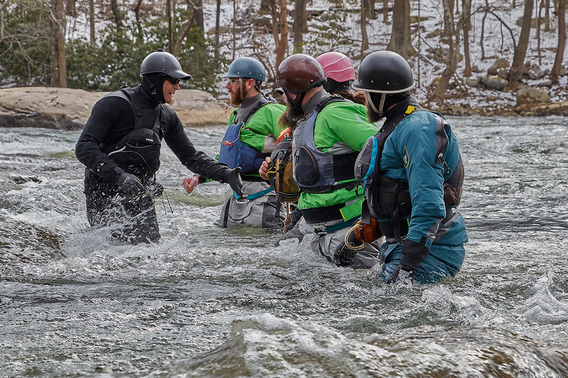 Level 4 ACA Swiftwater Rescue with Mike Mather and Wilderness Voyageur Staff