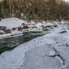 Looking upstream at National Falls