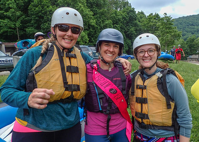 2018-06-01 Lower Yough, Chris & Amanda's Pre-wedding Paddling Party