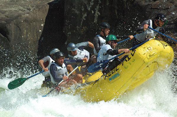 ANIMAL Upper Gauley River Race