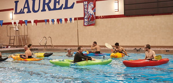 Kayak Session at Laurel Highlands High School