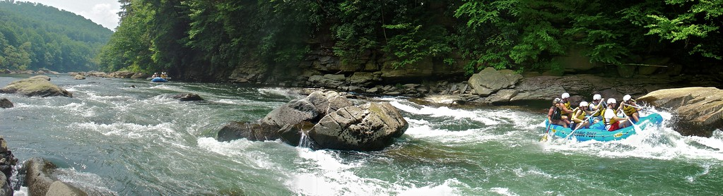 Panoramic River Photography on the Youghiogheny