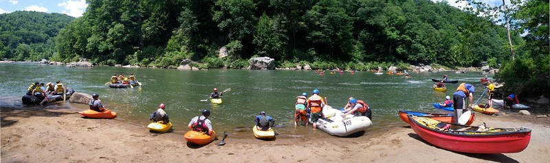 Panoramic images Unit4media created on the Youghiogheny River.