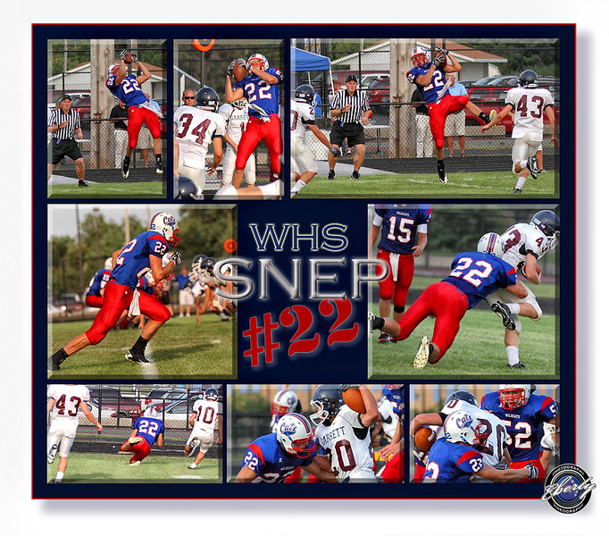 Text or call me at 260-248-1053 for sports collage information. 16x20's start at $59.00, and includes the design.