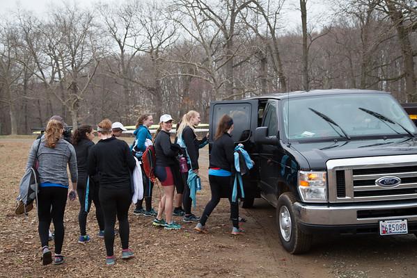 Whitman Girls Spring Break Rowing Camp