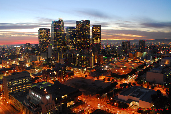 Downtown Los Angeles, CA USA