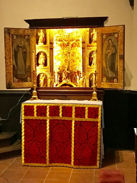 The All Saints Altar
