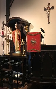 Shrine of the Sacred Heart & The Pulpit