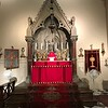 The HIgh Altar ready for High Mass